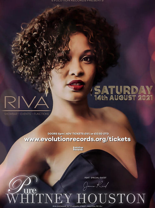 Pure Whitney Houston - LIVE at Riva Showbar, Preston