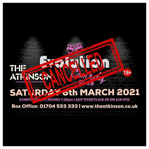 Evolution Comedy Club - LIVE at The Atkinson Theatre, Southport (March 2021)