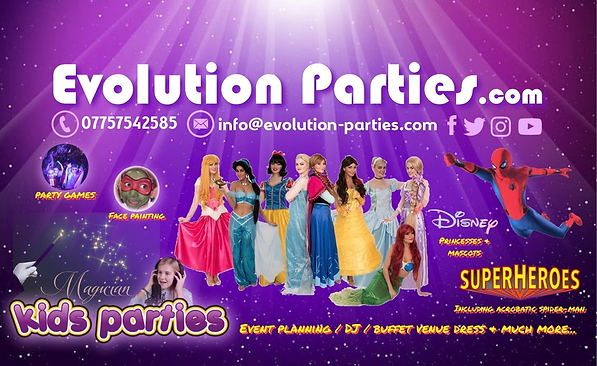 Eution Parties - Kids Parties