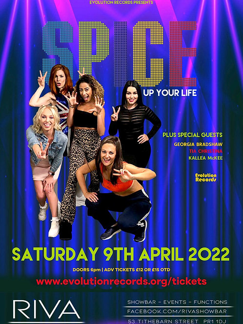 SPICE Up Your Life - LIVE at Riva Showbar, Preston