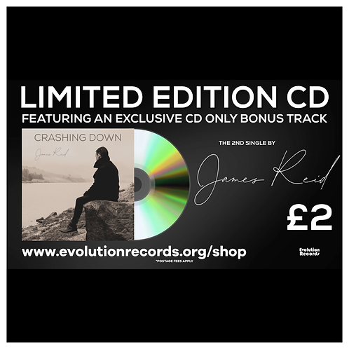 'Crashing Down' Limited Edition CD by James Reid