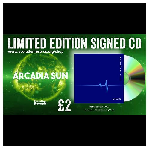 Acadia Sun - 'Lifeline' Limited Edition Signed CD