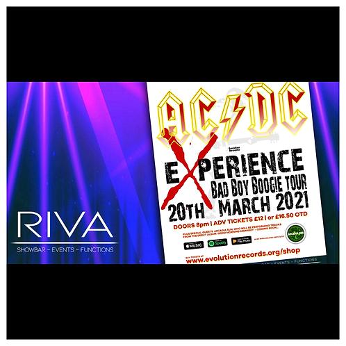 The AC/DC Experience - LIVE at Riva Showbar, Preston