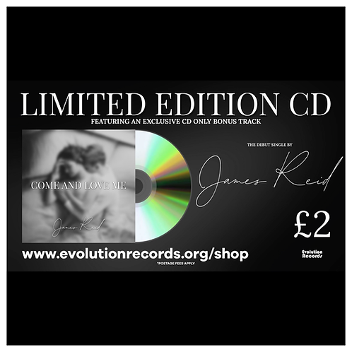 'Come and Love Me' Limited Edition CD by James Reid