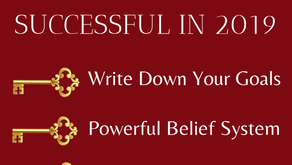 3 Keys to Being Successful in 2019