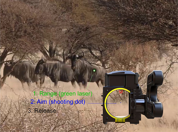 best bow sight , before garmin, Garmin Xero, Automatic Bow Sight, Bow Hunting, Hunting, Archery, Shooting, target distances, aim, shot, sight tapes