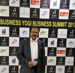 at Business Yogi Business Summit
