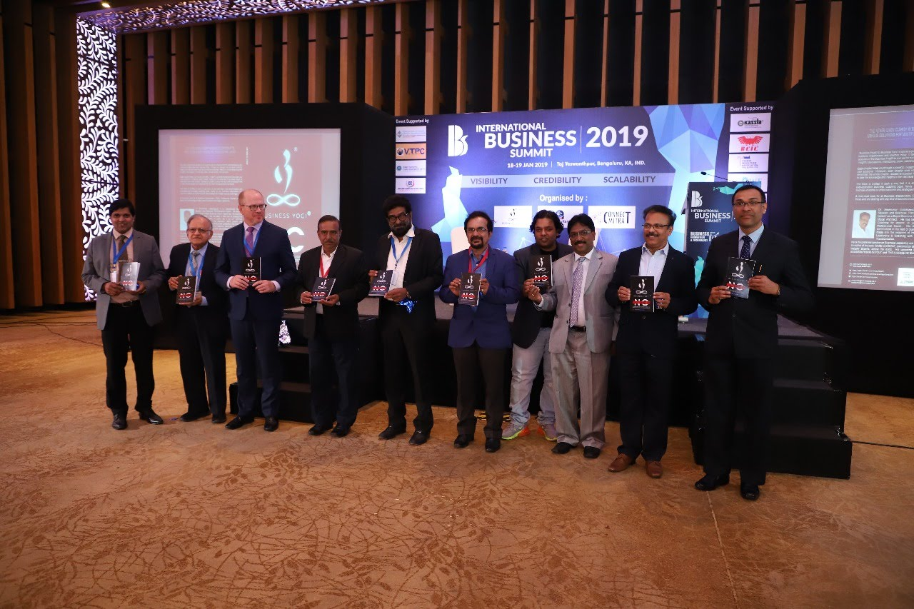 Book Launch at International Business Summit