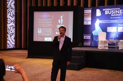 Speaking at International Business Summi