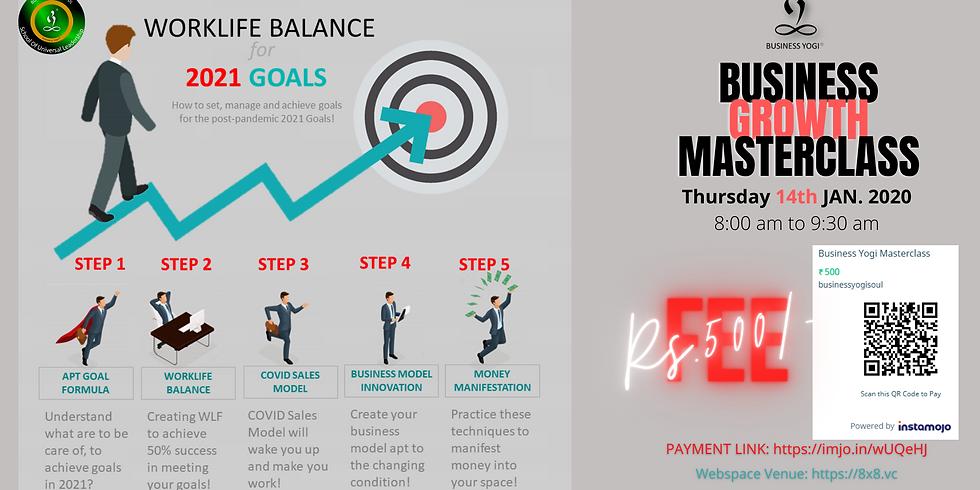 Work-Life Balance for 2021 Goals