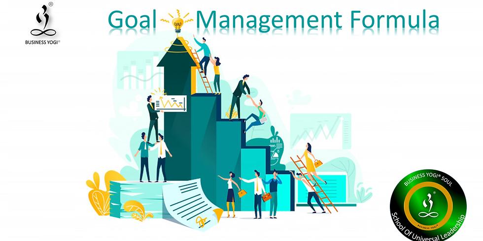 Goal Management Formula