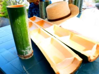 竹のジョッキとぐい吞み作りwith B(バーベキュー)開催しました。