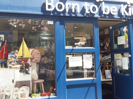 Une superbe boutique distribue nos BOX à Paris 6 ème : Born to be kids
