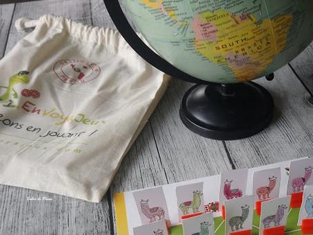 EnVoyaJeux pour Bulles de plume : Partir en voyage à la découverte du monde sans partir de chez soi