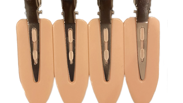 NO-BEND HAIR CLIPS (4 PACK)