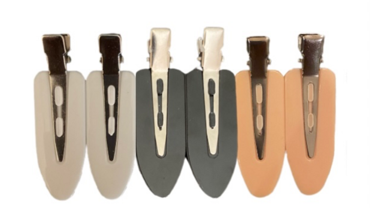 NO-BEND HAIR CLIPS (6 PACK)