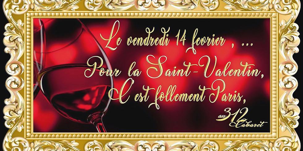"""Pour la Saint-Valentin, c'est """" Follement Paris """""""