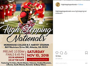 High Stepping National 2018_OHS Band Pic