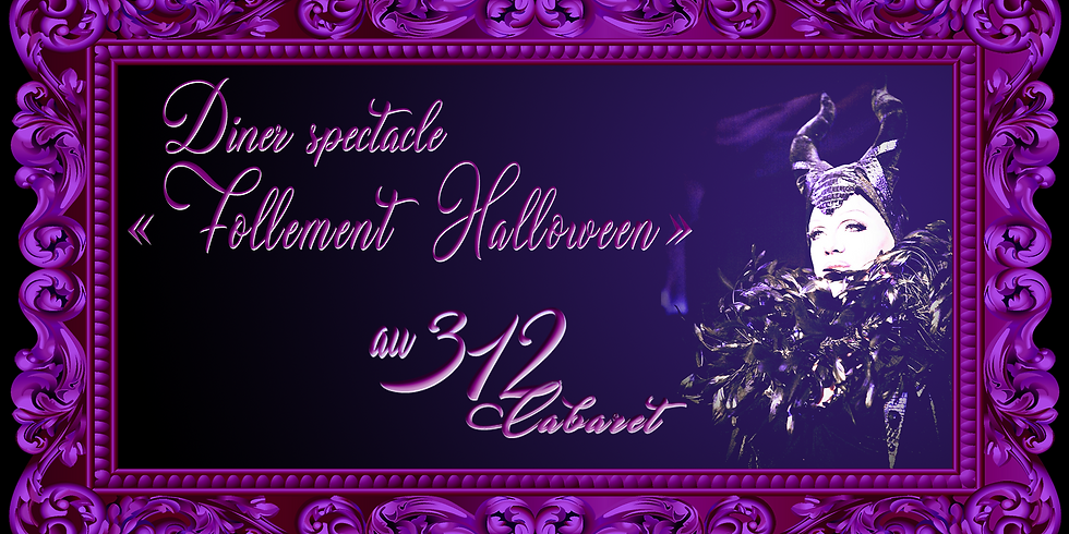 """ Follement Drôle "" Halloween, le diner spectacle"
