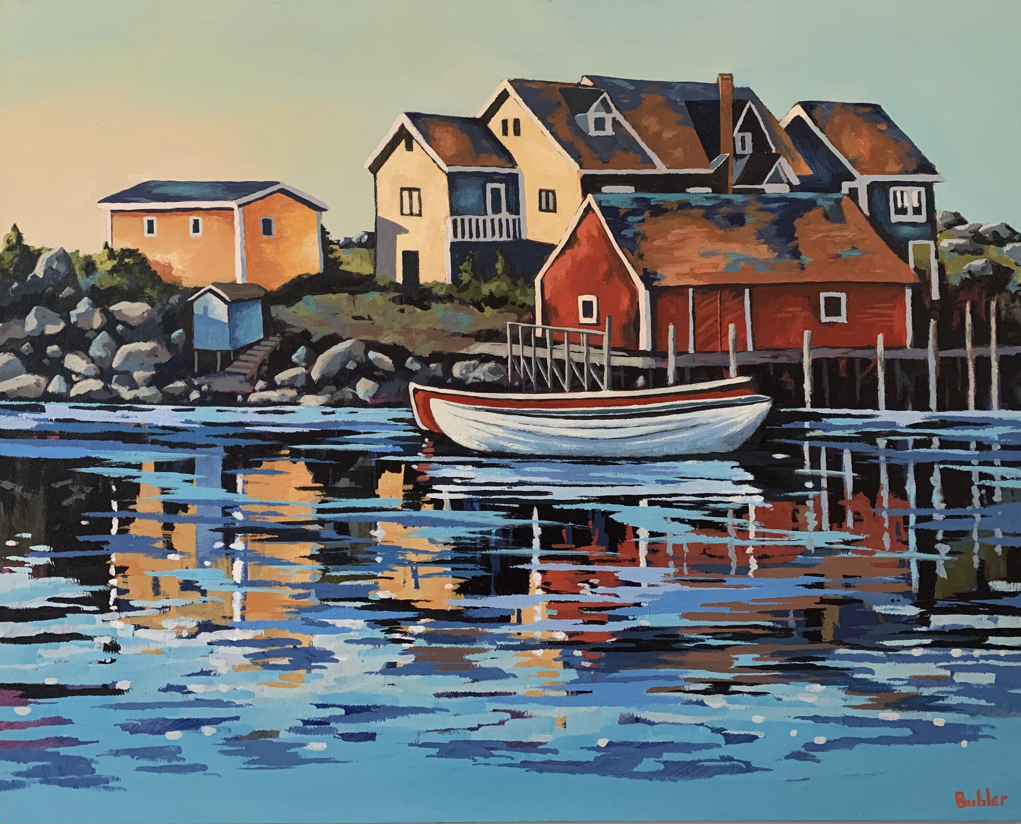 Morning in Peggy's Cove