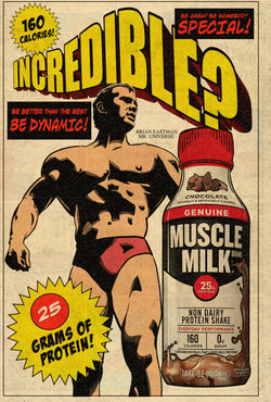MUSCLE MILK AD 1