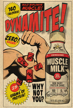 MUSCLE MILK AD 2