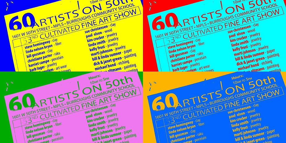 60 Artists on 50th