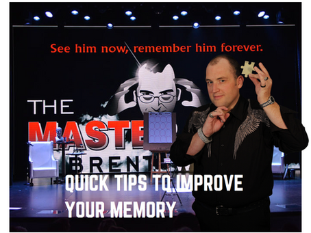 Quick Tips To Improve Your Memory