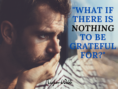 What If There Is Nothing To Be Grateful For??
