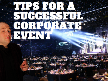 TIPS FOR A SUCCESSFUL CORPORATE EVENT