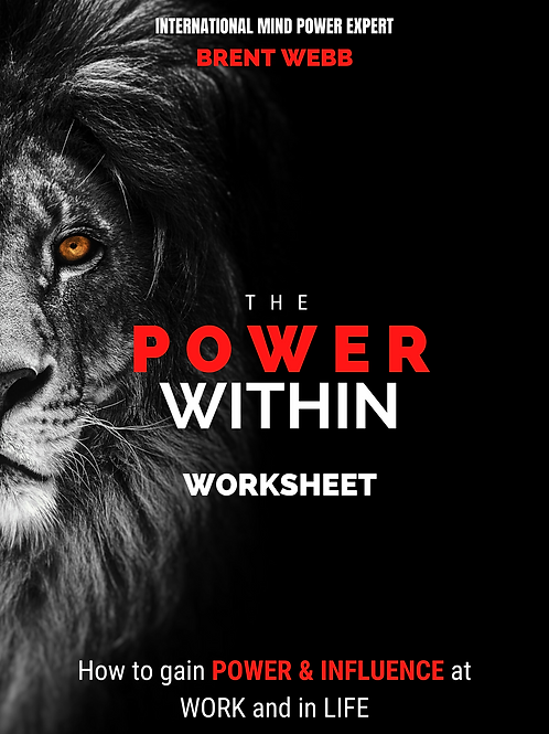 The Power Within Worksheet (Companion To Ebook)