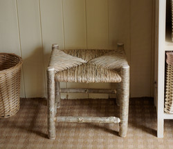 Hazel square rush seat stool.jpg