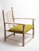 Kerry Woollen MIlls Green Armchair without back cushion.jpg