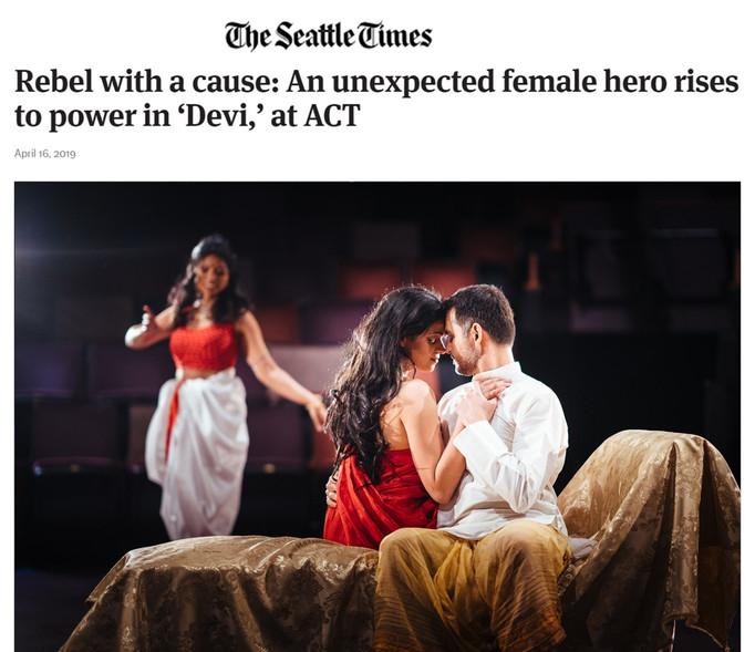 Devi in SeattleTimes