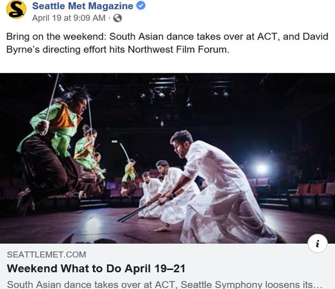 Devi featured in Seattle Met Magzine