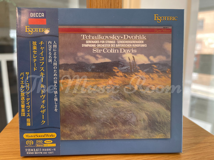TCHAIKOVSKY & DVORAK Serenades for Strings