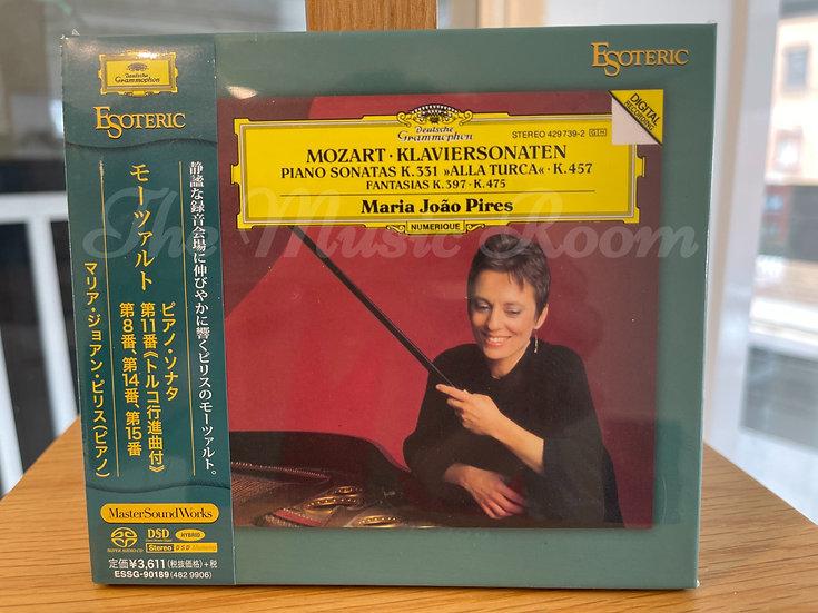 MOZART Piano Sonatas K.310, 331, 457, & 545