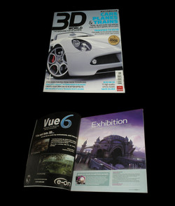 Revista 3D World Magazine