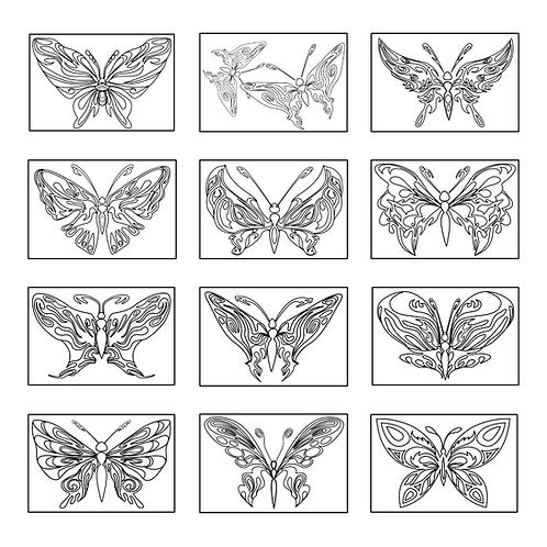 ColoringDeck Butterflies Forever
