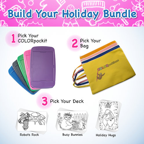COLORpockit Plastic Build Your Holiday Bundle