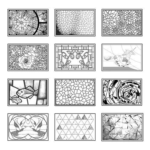 ColoringDeck Mosaic Madness
