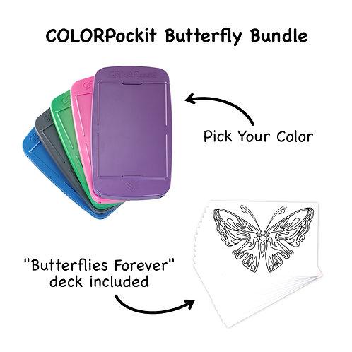 COLORpockit Plastic Butterfly Bundle