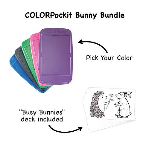 COLORpockit Plastic Bunny Bundle