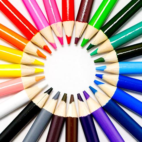 COLORpockit Pencil Set