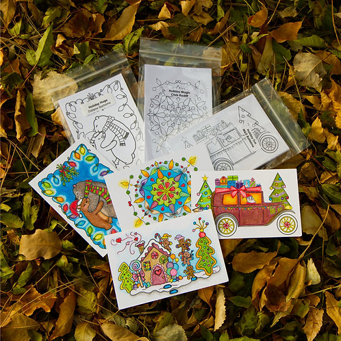ColoringDeck Holiday Lovers Bundle