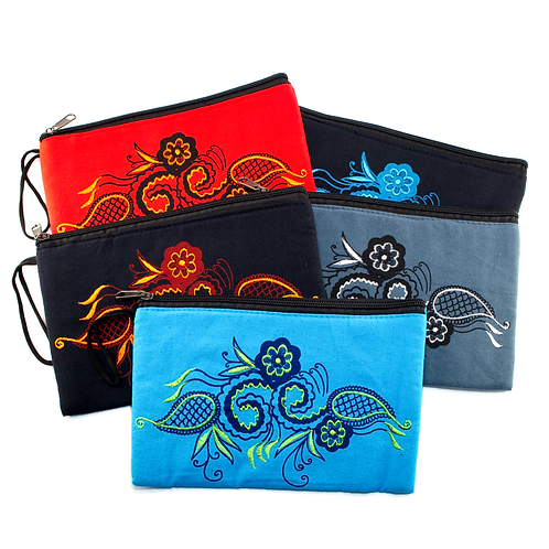 Paisley Deluxe Storage Bag for COLORpockit Plastic