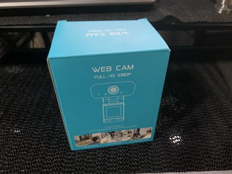 プレゼント品『WEBカメラ』をレビュー!オンラインレッスン特典のカメラが結構凄い!