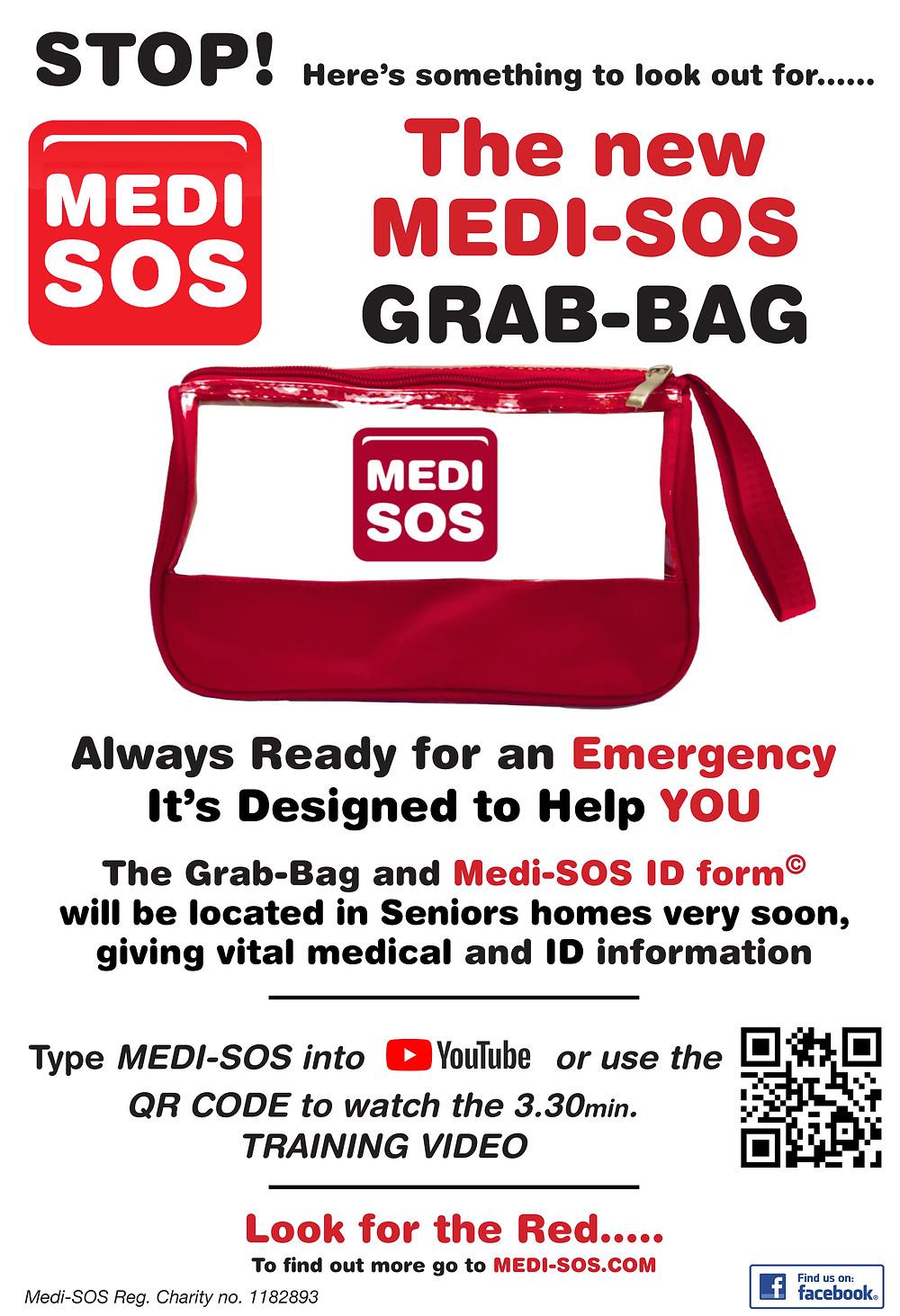 MEDI-SOS GRAB-BAG A4 POSTER