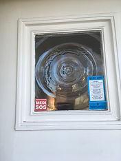 MEDI-SOS Window sticker