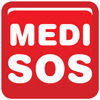 MEDI-SOS Logo sticker
